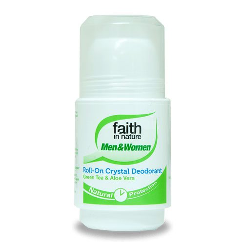 Faith in Nature golyós dezodor - Aloe Vera & Zöld Tea - 50ml