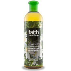 Faith in Nature kender és tajtékvirág tusfürdő - 400ml