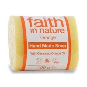 Faith in Nature narancs szappan - 100g