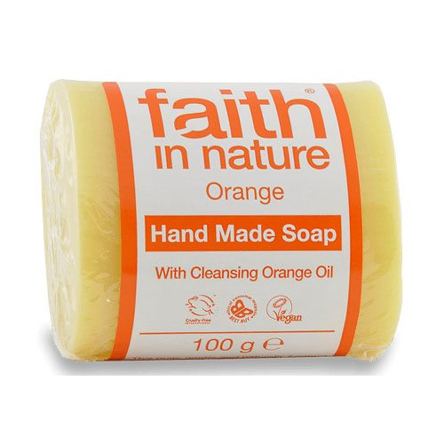 Faith in Nature narancs szappan - 100g