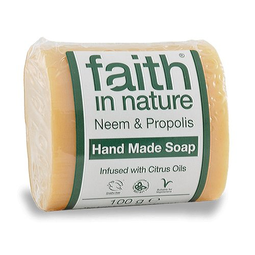 Faith in Nature neem fa és propolisz szappan - 100g