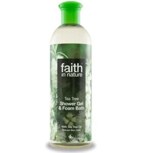 Faith in Nature teafa tusfürdő - 400ml