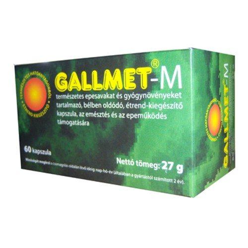 Gallmet-M kapszula - 60 db
