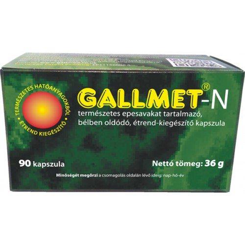 Gallmet-N kapszula - 90db