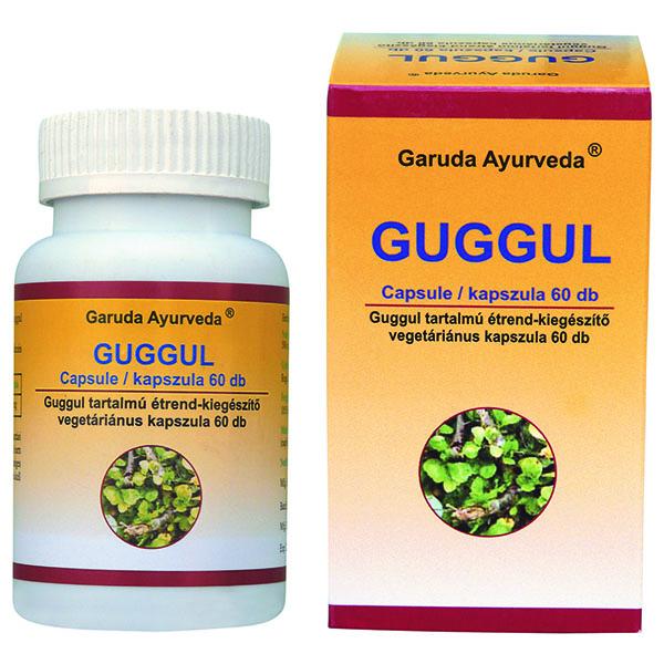 Garuda Ayurveda Guggul vegán kapszula - 60db