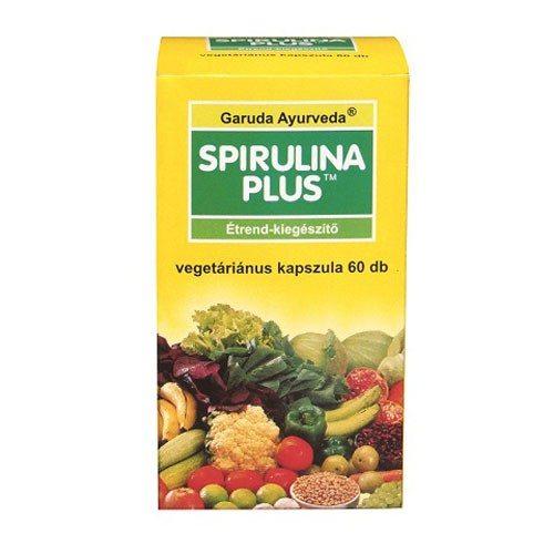 Garuda ayurveda spirulina plus vegán kapszula - 60db