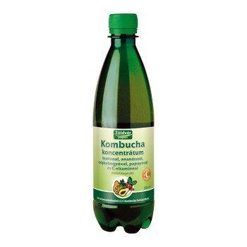 Zöldvér Kombucha koncentrátum Inulinnal - 500 ml