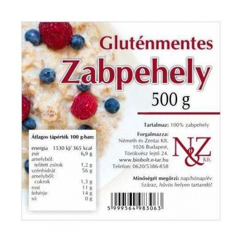 N&Z gluténmentes zabpehely - 500g