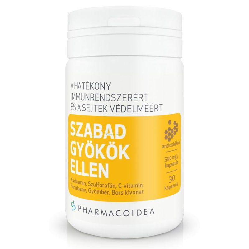 Pharmacoidea szabad gyökök ellen kapszula - 30db