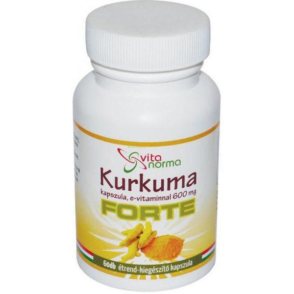 Vita Norma Kurkuma Forte kapszula - 60db