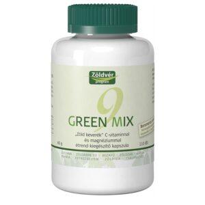 Zöldvér Green Mix 9 kapszula - 110 db