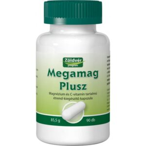 Zöldvér Megamag Plusz kapszula - 90 db