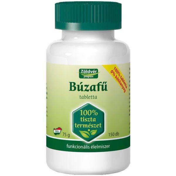 Zöldvér 100%-os búzafű tabletta - 150 db