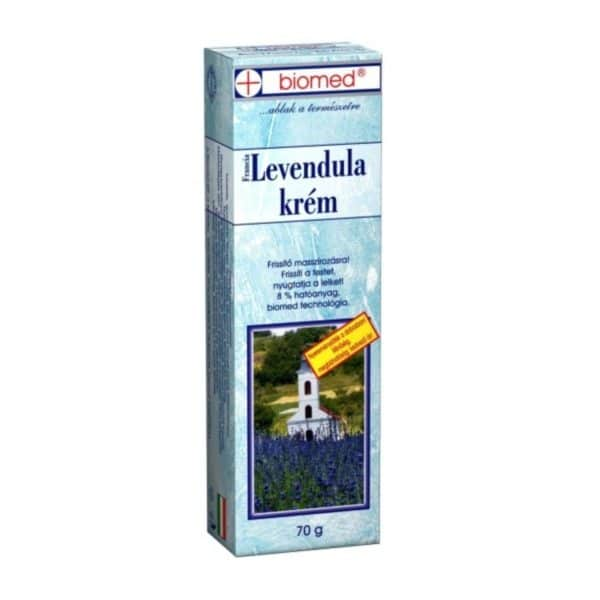 Biomed francia levendula krém - 70g