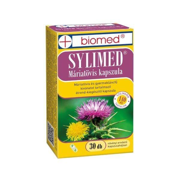 Biomed sylimed máriatövis kapszula - 30db