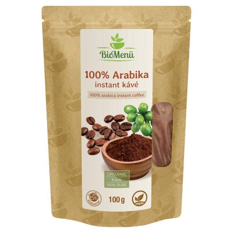 Biomenü bio 100% Arabica instant kávé - 100g