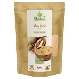 Biomenü bio baobab por – 125g