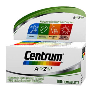 Centrum A-Z multivitamin filmtabletta - 100db