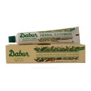 Dabur herbal fogkrém - 65ml /100g
