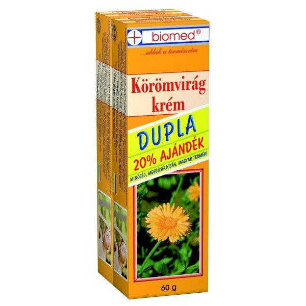 Biomed körömvirág krém dupla - 2x60g