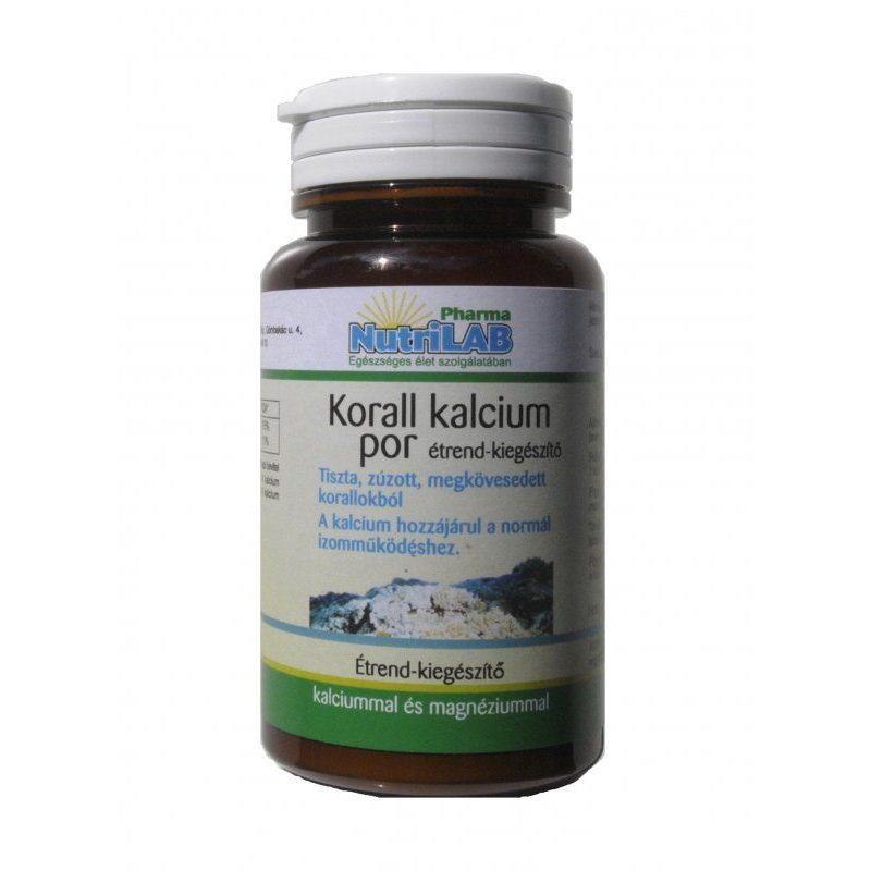 Nutrilab Korall Kalcium por - 100g