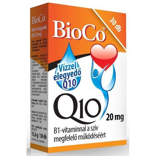 BioCo vízzel elegyedő Q10 20mg kapszula - 30db
