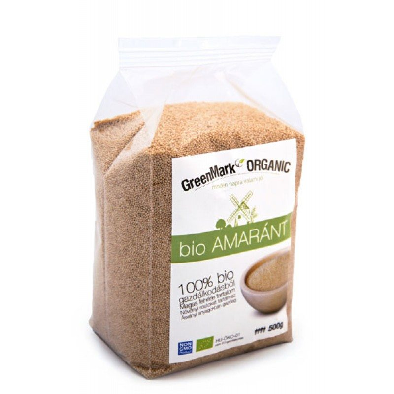 GreenMark bio amaránt - 500g