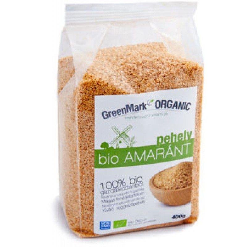 GreenMark bio amaránt pehely - 400g
