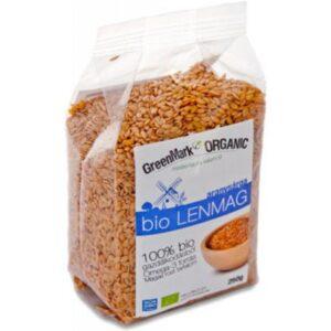 GreenMark bio lenmag aranysárga - 250g