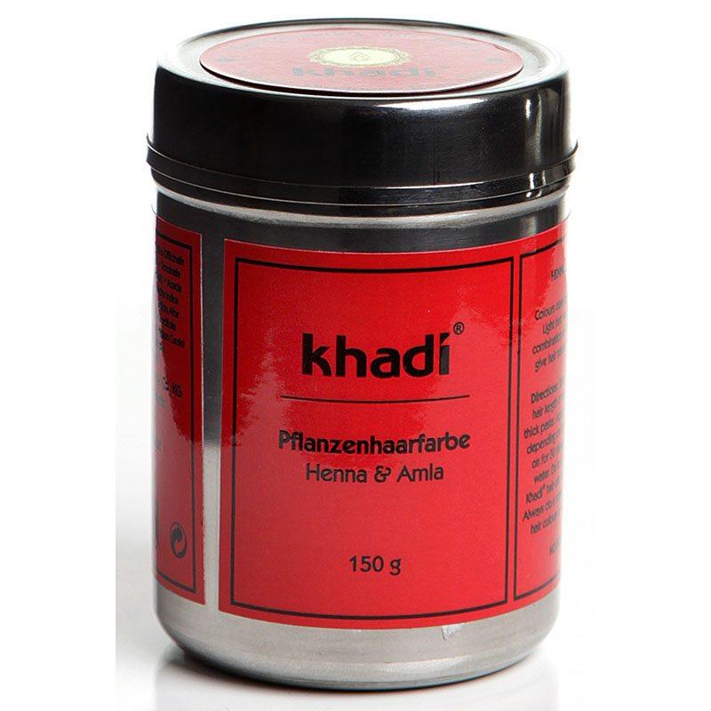 Khadi Henna&Amla hajfesték por - 150g