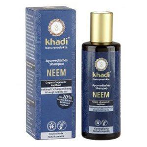 Khadi Neem sampon - korpás hajra - 210ml