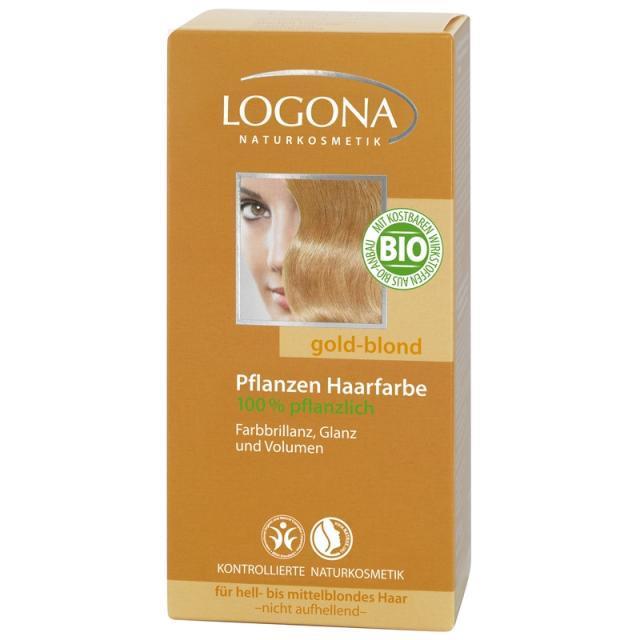 Logona növényi hajfesték - aranyszőke - 100g