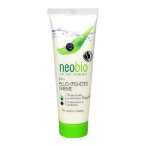 Neobio 24 órás hidratáló krém aloe vera + acaibogyó - 50ml