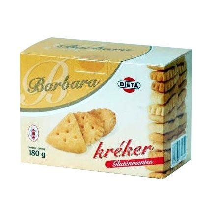 Barbara gluténmentes kréker - 180g