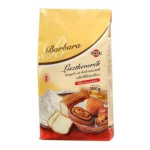 Barbara gluténmentes lisztkeverék kenyérhez, keltésztákhoz - 1000g