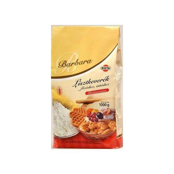 Barbara gluténmentes lisztkeverék - 1000g