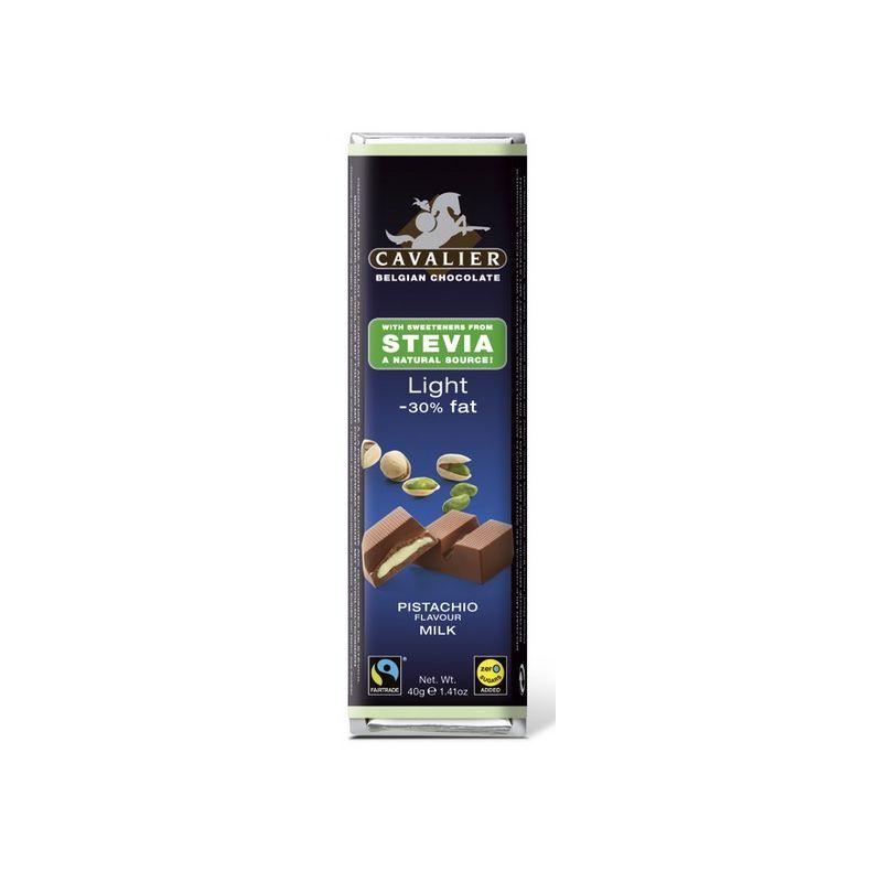 Cavalier Tejcsokoládé szelet pisztáciakrémmel töltve - 40g