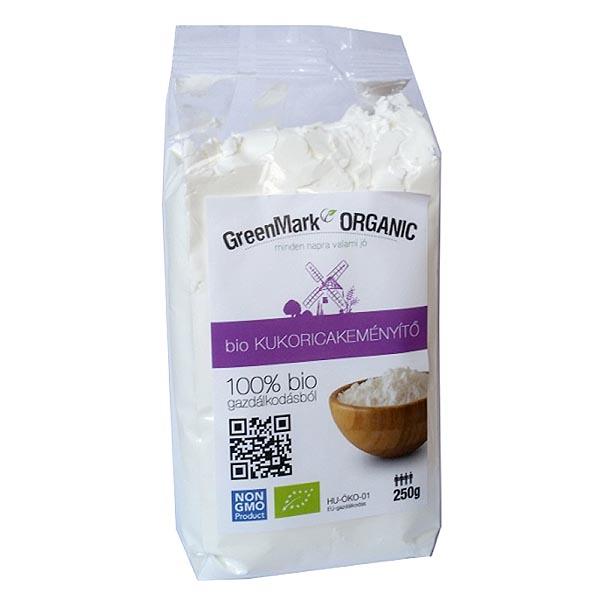 GreenMark bio kukoricakeményítő - 250g