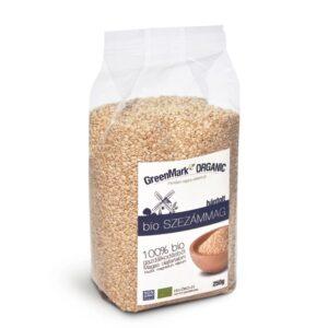 GreenMark bio szezámmag hántolatlan - 250g