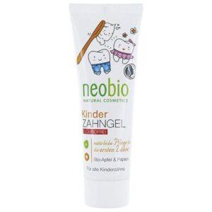 Neobio Fluoridmentes Gyermekfogkrém bio alma-és papayakivonattal - 50ml
