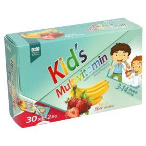 OCSO Kid's multivitamin eper-banán granulátum - 30x2,5g