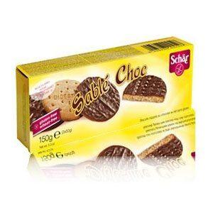Schr gluténmentes keksz tejcsokoládéval - 150g