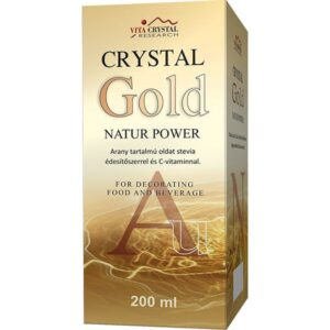Crystal Gold Natur Power aranykolloid - 200ml