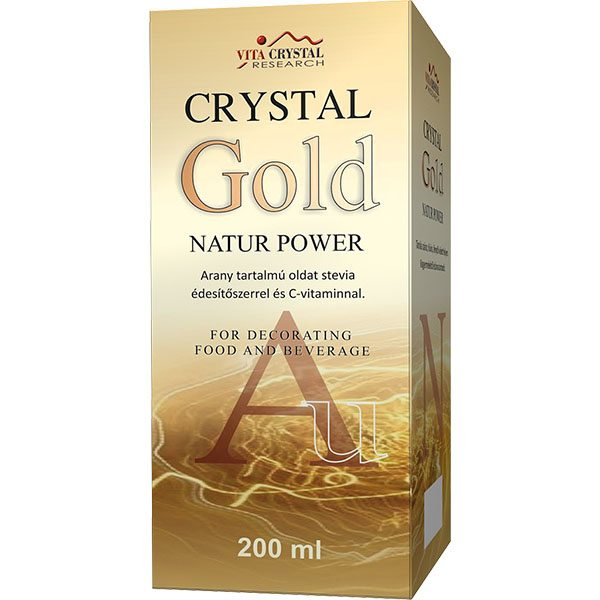 Crystal Gold Natur Power aranykolloid - 200ml