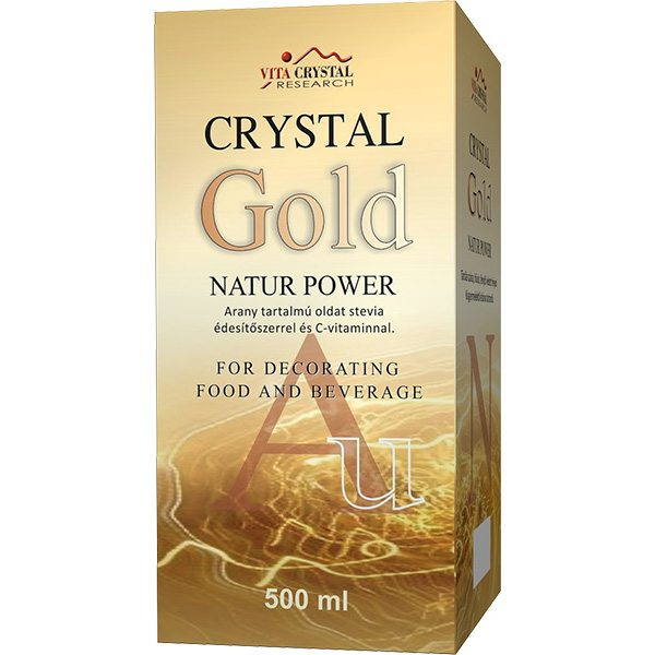 Crystal Gold Natur Power aranykolloid - 500ml