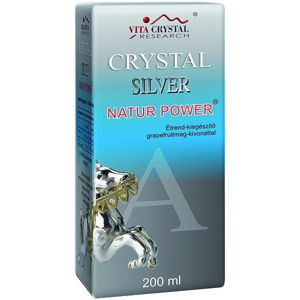 Crystal Silver Natur Power - 200ml