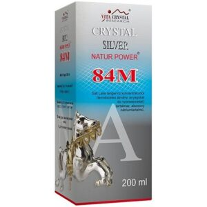 Crystal Silver Natur Power 84M - 200ml