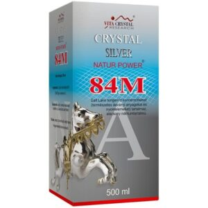 Crystal Silver Natur Power 84M - 500ml