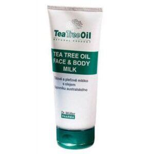 Dr. Müller Tea Tree Oil teafa arc-és testápoló tej - 200ml
