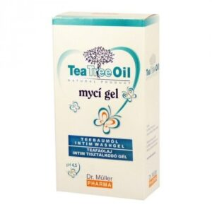 Dr. Müller Tea Tree Oil teafa intim tisztálkodó gél - 200ml